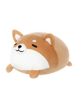 Round Shiba Inu Plush Toy