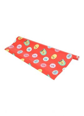 Fruity Fairy Wrapping Paper (Red)