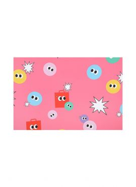 Fruity Fairy Wrapping Paper (Pink)