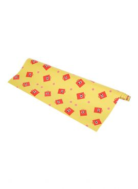 Fruity Fairy Wrapping Paper (Yellow)