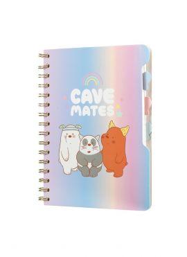 We Bare Bears A5 Wirebound Book