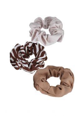 Zebra Print Hair Tie 3pcs