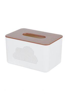 Imitation Wood Pattern Tissue Box (M)
