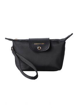 Minimalist Series Flip-flop Cosmetic Bag (Black)