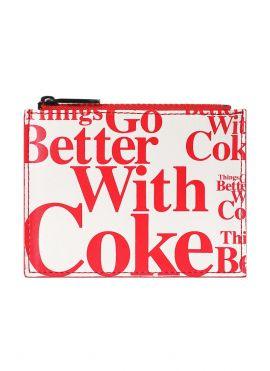 Coca-Cola Card Pouch (White)