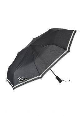 Business Three-fold Umbrella with Stripes
