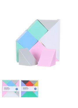 Colored Eraser Set